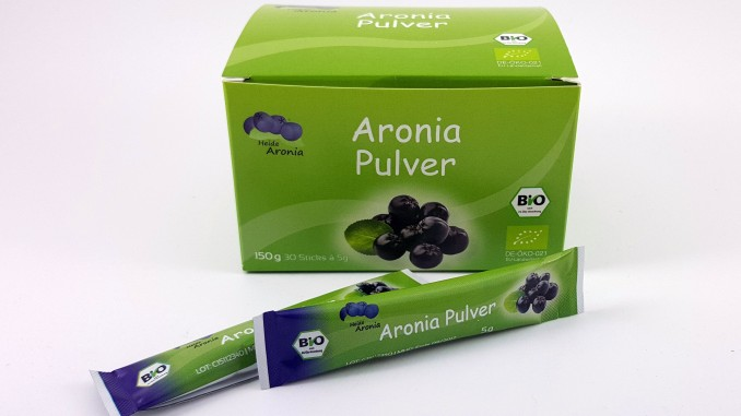 Aronia Pulver Sticks
