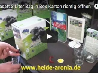 Aroniasaft 3 Liter Bag in Box