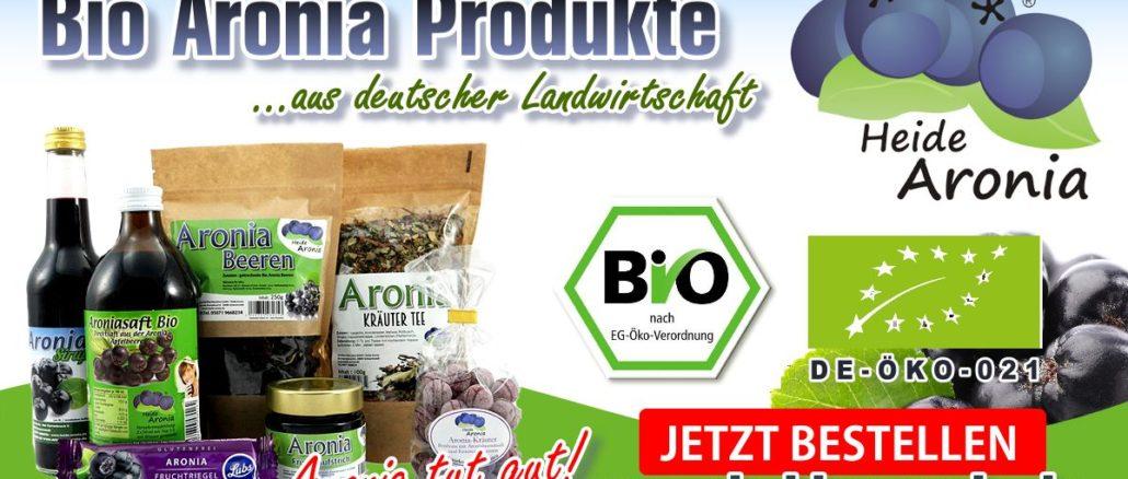 Bio Aronia Produkte