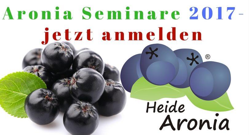 Aronia Seminar Termine 2017