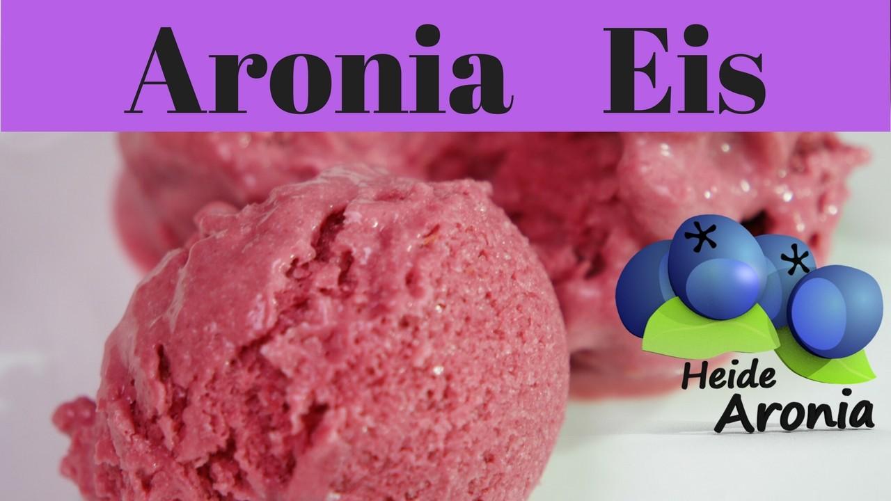 Aronia Eis selber machen