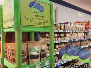 Aroniasaft im Supermarkt