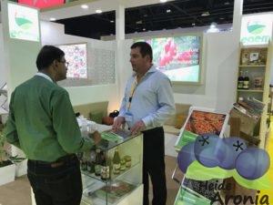 Aronia Produkte WOP Dubai 2017