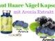 Aronia Extrakt Haut Haare Nägel Kapseln