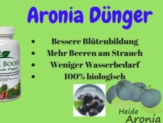 Aroniapflanzen Dünger Flora Boost
