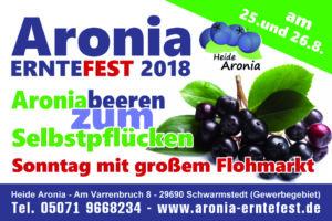 Aronia Erntefest 2018