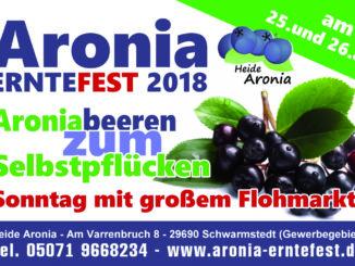 Aronia Erntefest 2018 Schwarmstedt