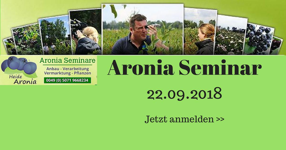 Aronia Anbau Seminar und Beratung