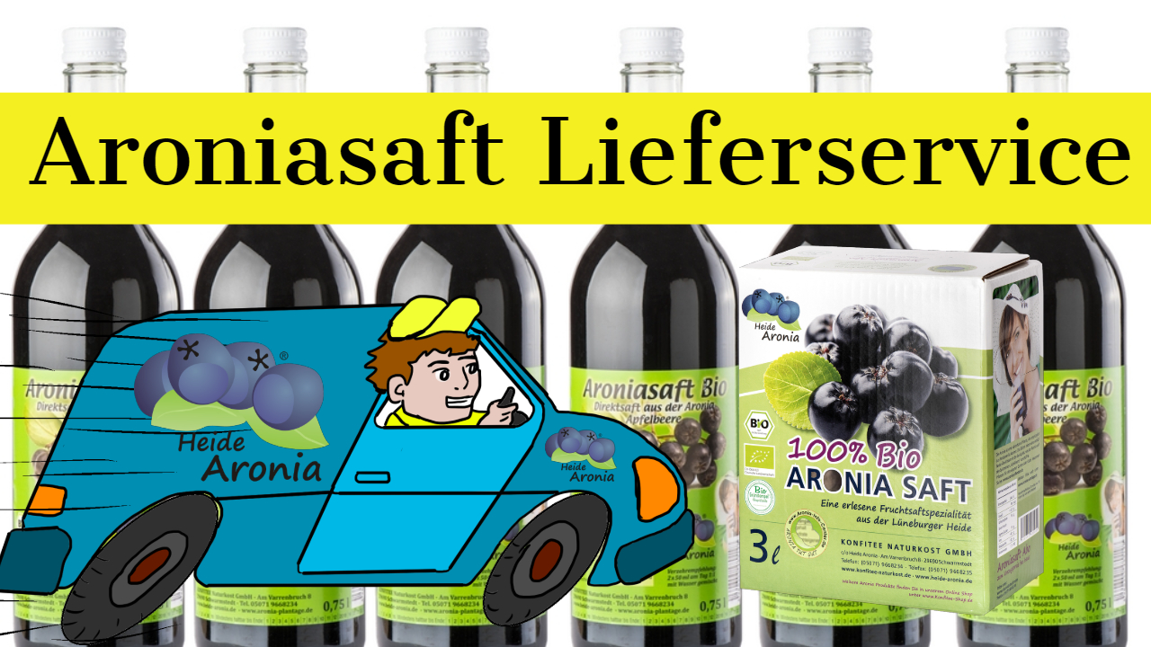 Aroniasaft Lieferservice