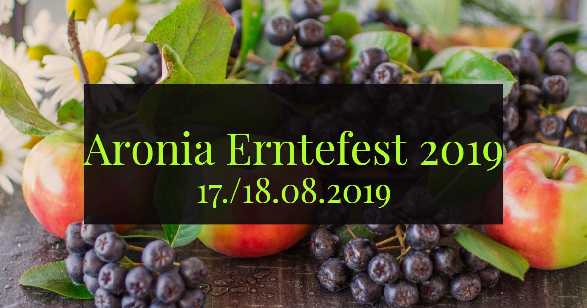 Aronia Erntefest 2019