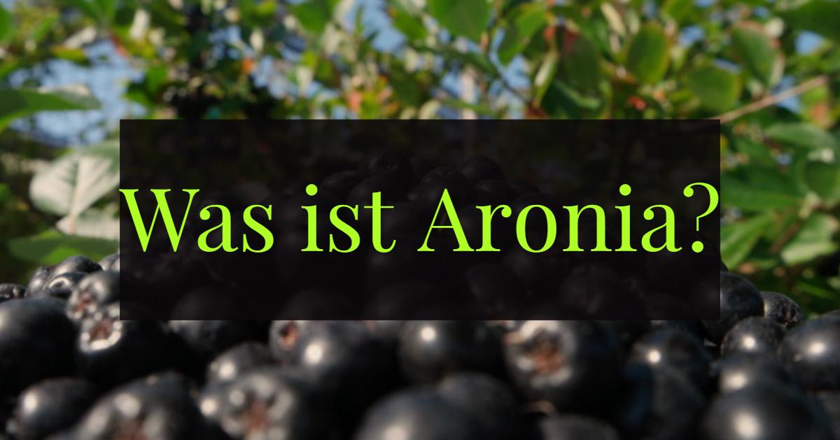 Was ist Aronia für eine Frucht