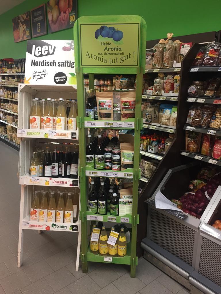 Heide Aronia Produkte EDEKA Amelinghausen