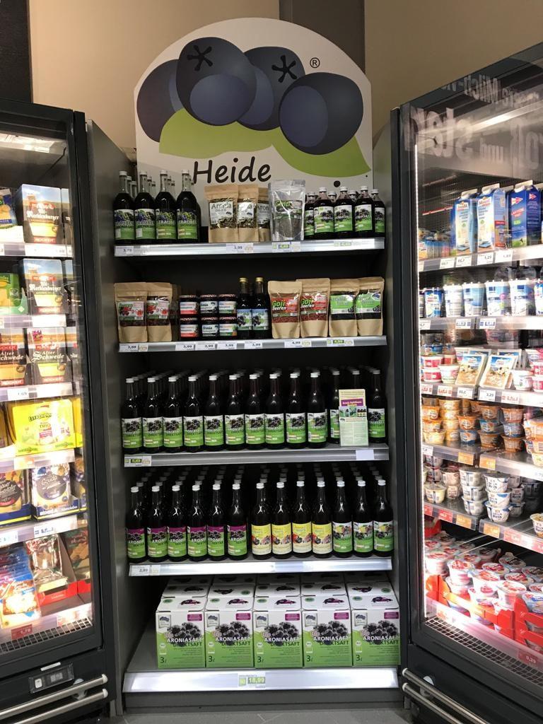 Heide Aronia Produkte EDEKA Wilde Schwarmstedt