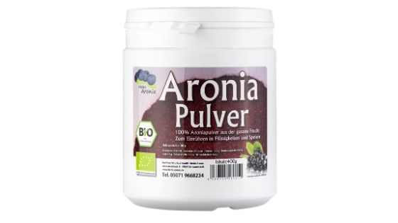 Was ist Aronia Pulver